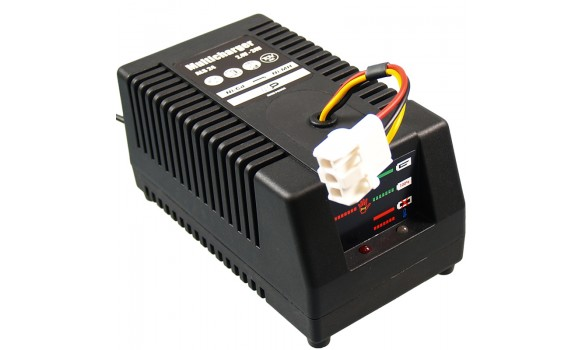 Chargeur pour batterie  MULTI 2.4V - 24V / Ni-Cd + Ni-MH