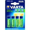 Pile rechargeable Power Accu VARTA LR03 AAA 1.2V 1000mAH