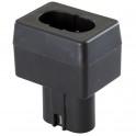 Adaptateur compatible avec batterie Bosch, Delvo et Hitachi.