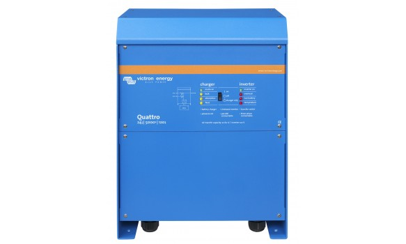 Chargeur/Convertisseur Quattro 12/5000/220-100/100