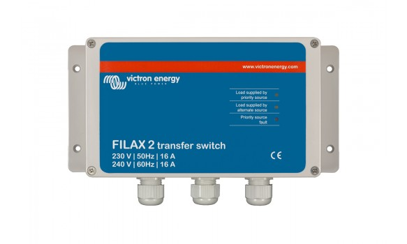 Commutateurs de transfert Filax-2  110V/50Hz-120V/60Hz