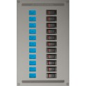 ESP AC Distribution Panel (1x 20A, 1x 16A, 1x 10A, 1x 5A)
