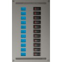 ESP DC Distribution Panel (1x 20A, 1x 16A, 1x 10A, 1x 5A)