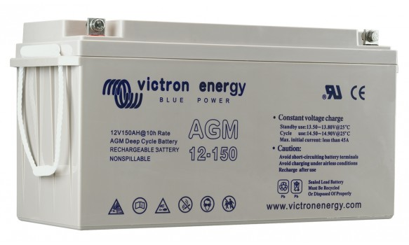 Batterie 12V 90Ah AGM Deep Cycle Victron Energy