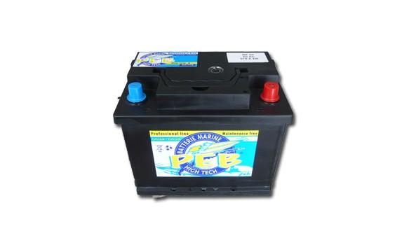 Batterie Marine PEB 12V 60Ah