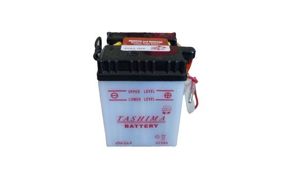 Batterie moto  6N4-2A-4   6V / 4Ah