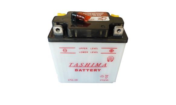 Batterie moto 6N6-3B  6V / 6 Ah