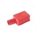 Cache protection borne batterie positive en PVC Rouge