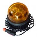 Gyrophare magnétique et ventouse 12 Volts SACEX SATURNELLO