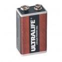 Pile Lithium BATLi10 ULTRALIFE 9V 1.2Ah
