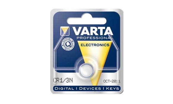 Pile bouton Lithium CR1/3N VARTA
