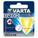 Pile bouton Lithium CR1620 VARTA