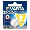 Pile bouton Lithium CR2016 VARTA