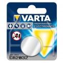 Pile bouton Lithium CR2032 VARTA