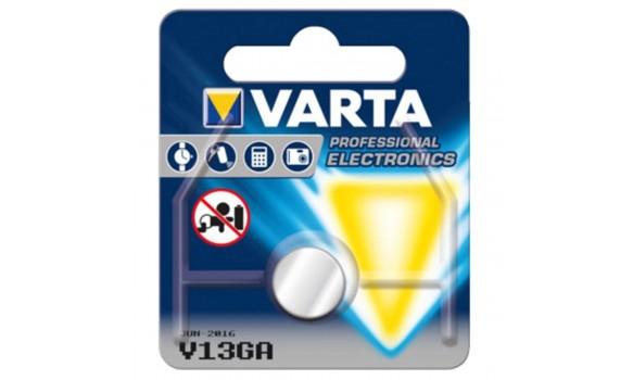 Pile bouton Alcaline LR44 / V13GA VARTA