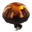 Gyrophare flexible ellipse 12-24 V sur tige SACEX