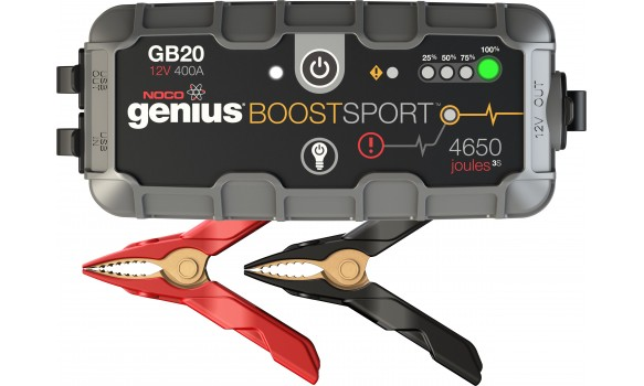 Booster performant au litihum NOCO GENIUS GB20 / GB30