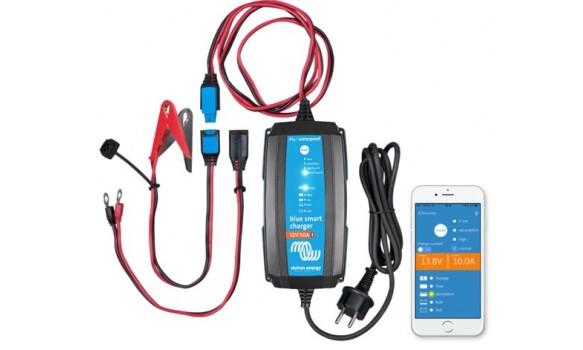 Chargeur batterie Blue Smart IP65 12/4 + DC connecteur