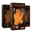 Gants de protection nitrile taille L GRIPPAZ