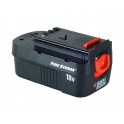 Batterie pour outillage portatif BLACK & DECKER 18V 1,5Ah Ni-Cd