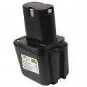 Batterie pour outillage portatif BOSCH / BTI / SPIT  7,2V 1,7Ah  Ni-Cd