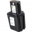 Batterie pour outillage portatif BOSCH / BTI / SPIT  9,6V 1,7Ah  Ni-Cd
