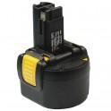 Batterie pour outillage portatif BOSCH / BTI / SPIT  9,6V 2.0Ah  Ni-Mh