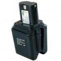 Batterie pour outillage portatif BOSCH / BTI / SPIT  12V 1,7Ah  Ni-Cd