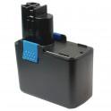 Batterie pour outillage portatif BOSCH / BTI / SPIT  14,4V 1,5Ah  Ni-Cd 2 607 335 160