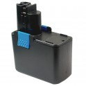 Batterie pour outillage portatif BOSCH / BTI / SPIT  14,4V 2,4Ah  Ni-Cd