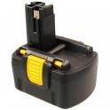 Batterie pour outillage portatif BOSCH / BTI / SPIT  14,4V 1,5Ah  Ni-Cd
