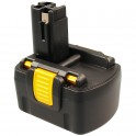 Batterie pour outillage portatif BOSCH / BTI / SPIT  14,4V 1,7Ah  Ni-Cd