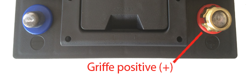 position griffe positive (plus)