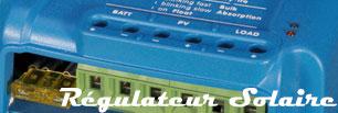 Régulateur solaire 12/24V Victron energy